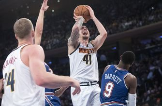 Will Barton scores 17 points, Nuggets beat Knicks 129-92
