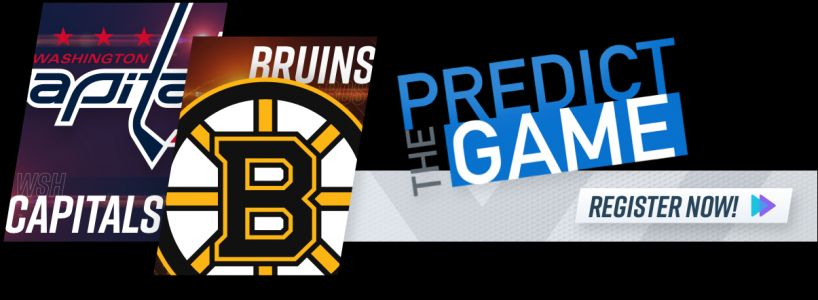 Play 'Predict The Game' During Bruins-Capitals To Win $500 Gift Card