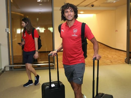 Mohamed Elneny hints at Arsenal exit with puzzling message