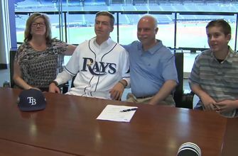 First-round pick Matthew Liberatore excited to sign contract with Rays