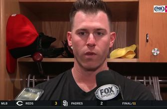 Anthony Desclafani has a funny theory about the Reds extra-innings win in San Diego