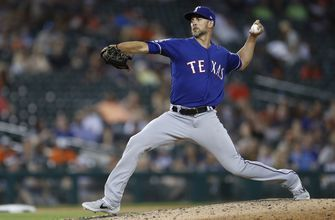 Minor goes the distance as Rangers beat Tigers 4-1