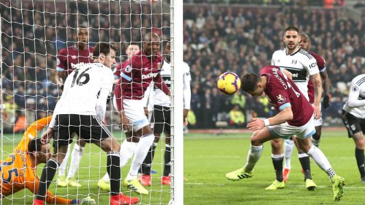 Javier Hernandez's goal sparks controversy in West Ham win over Fulham
