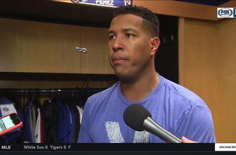 Salvy on his 21st homer: 'It means a lot to me'