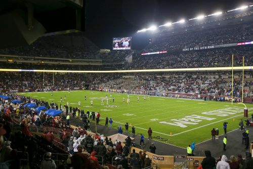 AD Ross Bjork says Texas A&M planning to host football games at 'full capacity'