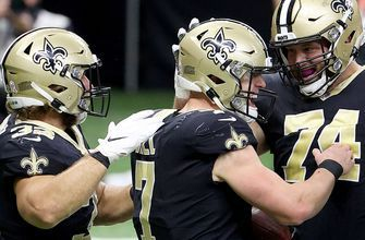 Saints QB Taysom Hill scrambles for second rushing touchdown of the day in win