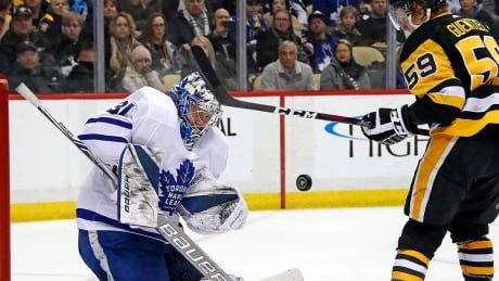Maple Leafs' Andersen questionable for Thursday vs. Crosby, Penguins