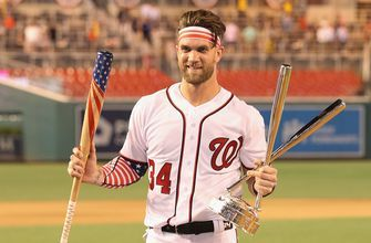 Skip Bayless reacts to Bryce Harper's comeback HR Derby win at home