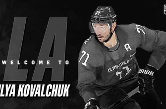 LA Kings agree to terms with forward Ilya Kovalchuk on three-year contract