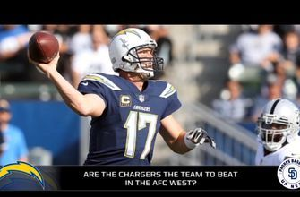 Are the Chargers the team to beat in AFC West?