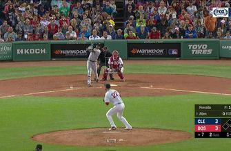 VIDEO: Greg Allen hits 2-run go-ahead home run in Fenway Park