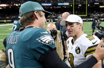 Despite riding an emotional high, Marcellus Wiley believes the Eagles will lose to the Saints