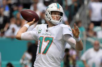 Dolphins plan to start Ryan Tannehil for first time in 6 games
