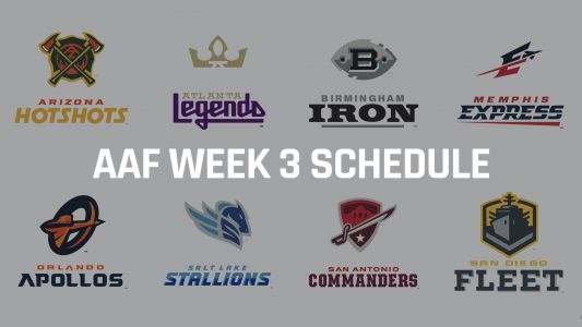 Alliance of American Football schedule: Odds, line, predictions for Week 3 AAF games