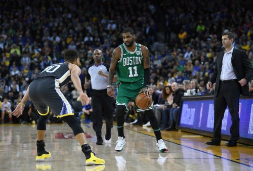 Kyrie Irving Is Confident Celtics Can Beat Warriors in 7-Game Series