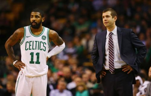 Brad Stevens: Kyrie Irving 'Looks Pretty Good'