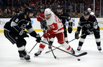 PREVIEW: LA Kings kick off four-game road trip vs. Red Wings