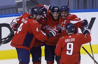 Capitals top Bruins, clinch No. 3 seed in Eastern Conference