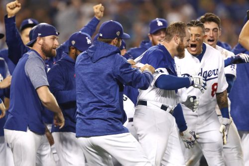 Dodgers nip Red Sox in 18 to win longest game in World Series history