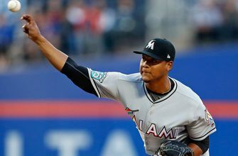 Elieser Hernandez turns in 5 strong innings, but Marlins' bats go cold in shutout loss to Mets