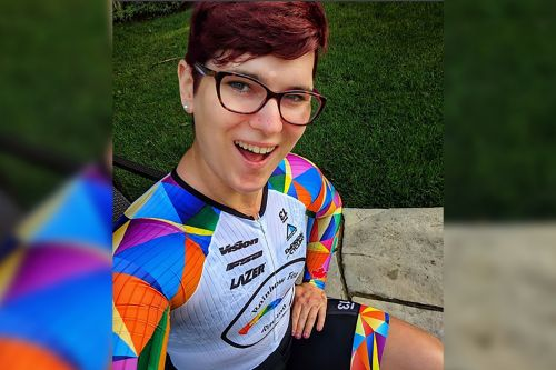 Transgender cyclist slams 'bigots' after winning world championship
