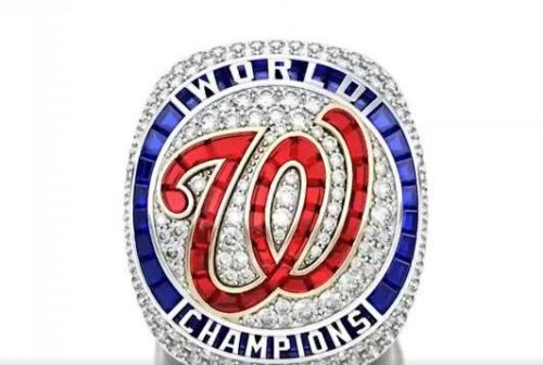 Nationals unveil 2019 World Series rings featuring D.C. monuments, 'Baby Shark'