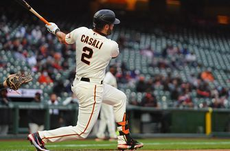 Giants quick start is enough to beat the Marlins, 3-0