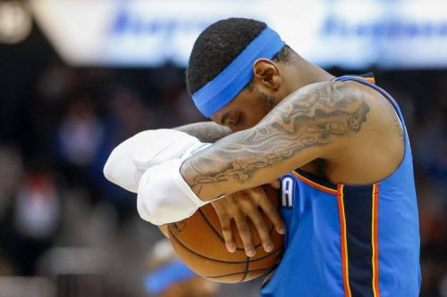 Carmelo Anthony's time with Rockets ending