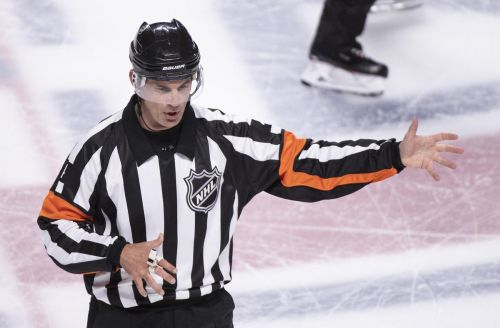 NHL's best referee goes by his own book