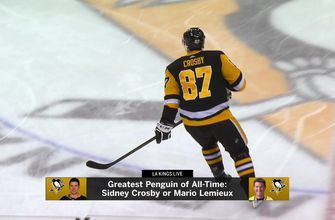 LA Kings Live: Where does Sidney Crosby fit on all-time lists?