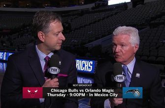 Magic grab passports, prepare for Bulls in first of 2 games in Mexico City