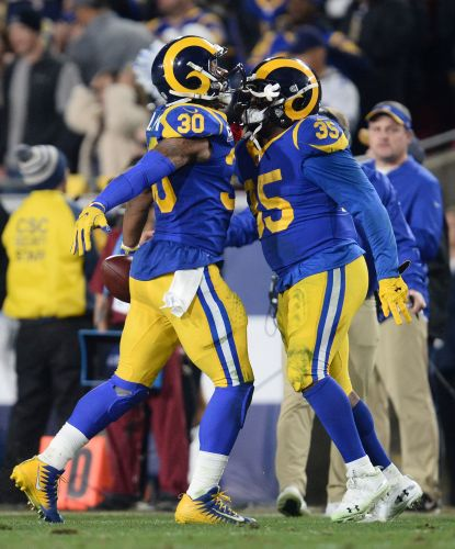 Rams' running backs Todd Gurley, C.J. Anderson quite a 1-2 punch against the Cowboys