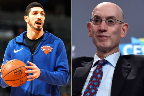 Enes Kanter wants to thank Adam Silver, NBA for support
