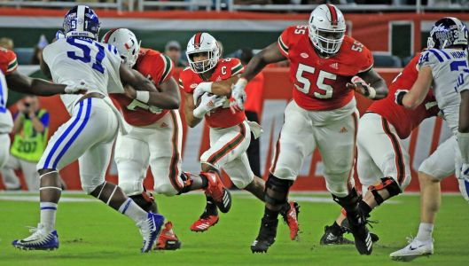 Oft-penalized Hurricanes looking to cut back on mistakes, deal with crowd noise at Virginia Tech