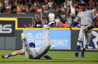Correa's RBI single in 12th gives Astros 4-3 win over Royals