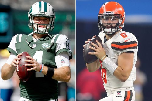 Sam Darnold, Baker Mayfield on opposite paths in rookie years
