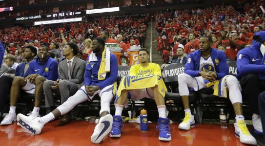 Warriors look bounce back after loss to Rockets