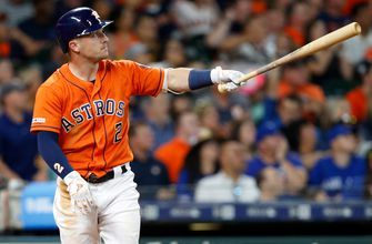 The Houston Astros hit 4 home runs in lopsided victory over Blue Jays