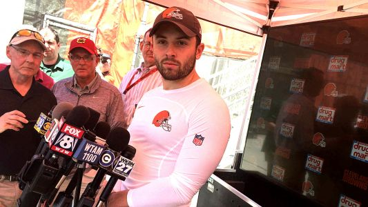 Baker Mayfield doesn't cower to Colin Cowherd hot takes, does Browns proud