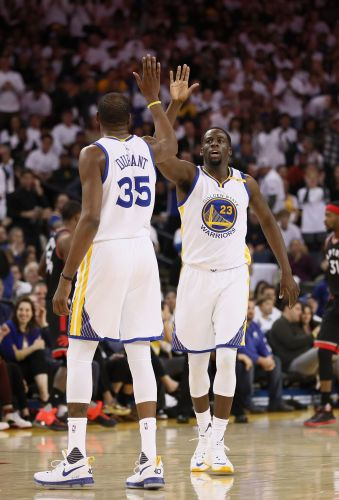 Q&A: Draymond Green talks Warriors' season, relationship with Kevin Durant