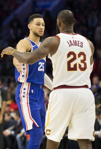 76ers' Ben Simmons 'a little' disappointed LeBron James joined the Lakers