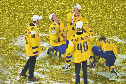 Sweden captures hockey world championship gold in shootout