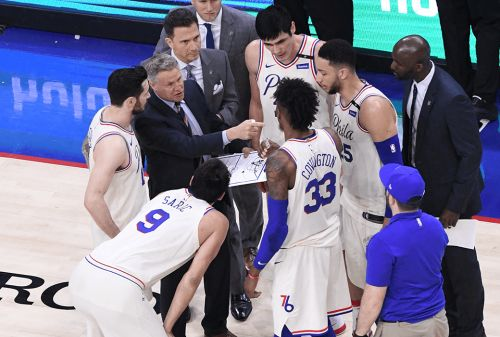 Report: Philadelphia 76ers Attempting to Acquire Top-5 Draft Pick