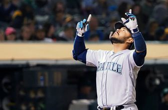 Omar Narvaez and Mallex Smith hit home runs in Mariners 9-2 victory over A's