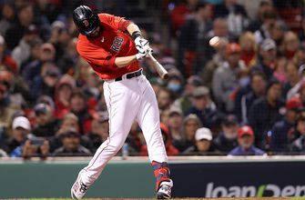 J.D. Martinez clubs two-run shot over the green monster to extend Red Sox lead to 11-3