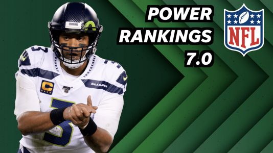 NFL power rankings 7.0: Cowboys come crashing down and there's a new number one