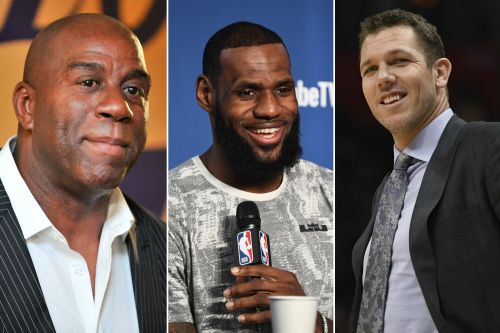 How Magic Johnson and the Lakers landed LeBron James
