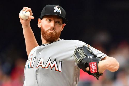 Miami Marlins announce release of veteran starting pitcher Dan Straily