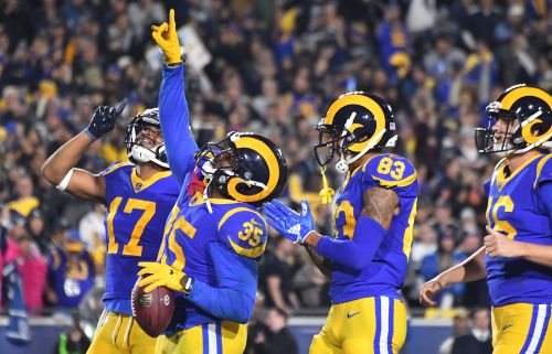 Los Angeles Rams run past Dallas Cowboys to reach NFC Championship Game