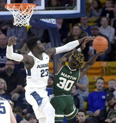 Miller, Queta carry Utah State over Colorado State 87-72